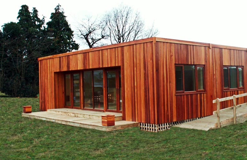 timber modular classroom